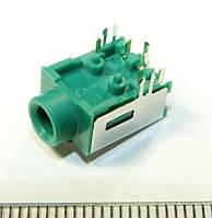 A037 Аудио разъем, гнездо под 3х контактный штекер 3,5 мм для ноутбуков и материнских плат 8PIN Acer Asus