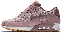 Женские кроссовки Nike Air Max 90 Premium (найк аир макс 90) сиреневые