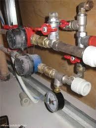 Монтаж и замена счетчиков холодной и горячей воды