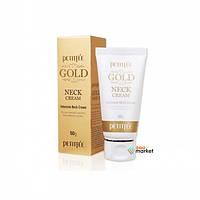Petitfee Крем для шеи и декольте с золотом Petitfee Gold Neck Cream 50 г