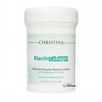 Кремы для лица Christina Крем Christina Elastin Collagen Placental Enzyme Moisture Cream эластин коллаген с плацентой 250 мл