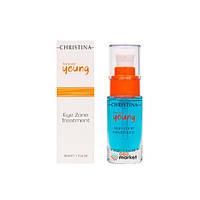 Сыворотки для лица Christina Гель для зоны вокруг глаз Christina Forever Young Eye Zone treatment 30 мл