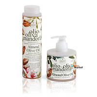 Жидкое мыло для рук и лица Nesti Dante Миндаль и оливковое масло 300 мл