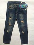 Джинсы, одежда для мальчика 3-7 лет, фото 4