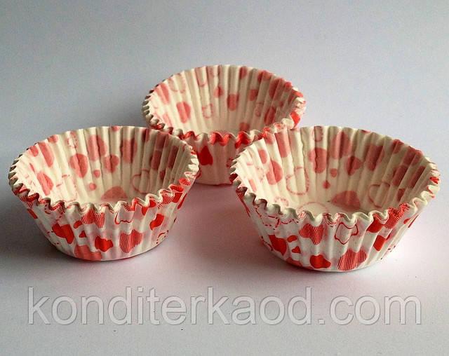Капсулы бумажные для выпечки капкейков и маффинов (10 см)