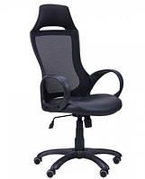 Кресло Viper черный, сиденье Неаполь N-20/спинка Сетка черная