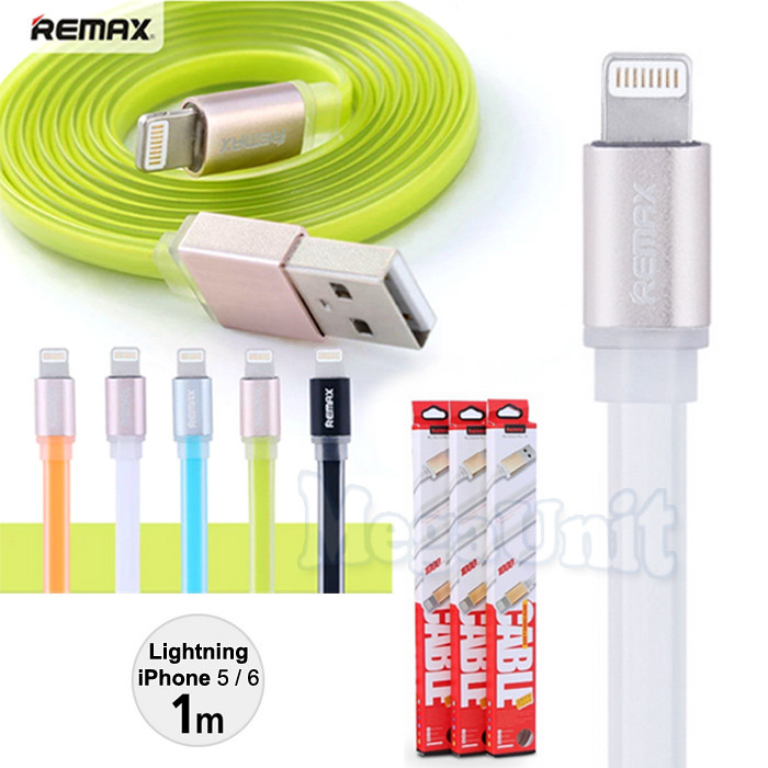 Remax RE-005i USB кабель 1м Lightning для iPhone 5/6, iPad Air