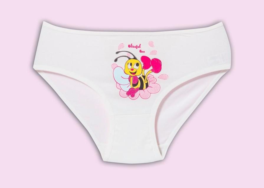 """Трусики детские для девочки """"Пчелка"""", 4-5 лет (рост 110-116)"""
