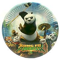"""Тарелка """"Панда Кунг-фу 3"""".Диаметр: 18см. В упак: 10шт."""