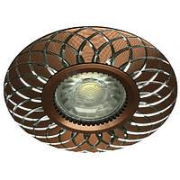 Встраиваемый светильник Feron GS-M888 цвет коричневый