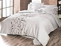 Комплект постельного белья First choice  Vip Сатин  SVip 04 Casabbanca Bej