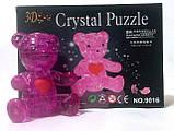"""Кристаллический пазл 3D """"Медвежонок"""" жёлтый, фото 4"""