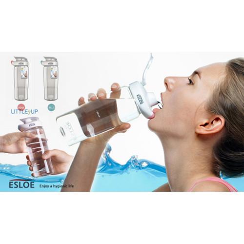 Стильная бесконтактная фитнес бутылочка для воды ESLOE