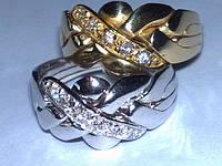 Кольцо из Белого золота с Бриллиантами от WickerRing