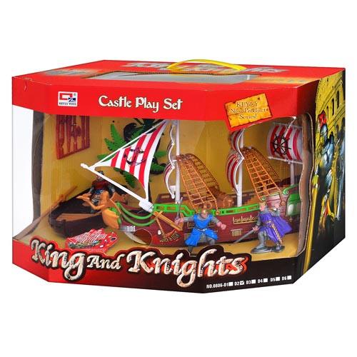 Корабль пиратов 0806 D2