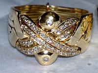"""Золотое кольцо с Бриллиантами """"Звездное Небо"""" от WickerRing"""