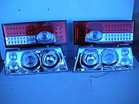 Диодные передние+задние фары на ВАЗ 2109 №3, фото 1