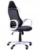 Кресло Nitro белый, сиденье Неаполь N-20