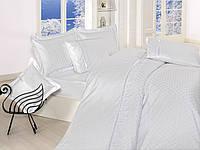 Комплект постельного белья First choice  Vip Сатин Жаккард SVip 33  Beyaz