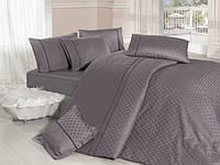 Комплект постельного белья First choice  Vip Сатин Жаккард SVip 37 Armoni Leylak