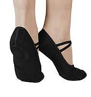 Балетки с кожаным носочком, Kovalenko Dance р. 30- р. 41