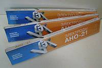 Электроды для сварки углеродистых сталей  АНО-21 ф2 мм (уп.1 кг)
