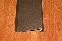Отлив коричневый RAL 8017 матовый 100 мм