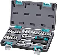 Набор инструментов 1/4 STELS 14100