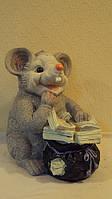 Статуэтка  копилка Богатая Мышь размер 27*17*20