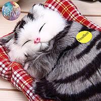 Спящик котик. Декоративная игрушка