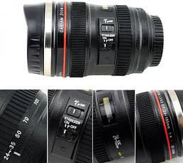 Кружка-мешалка в виде объектива Camera Lens, фото 2