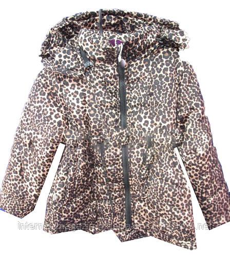 Куртка детская на девочку леопард