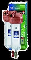 Трехэлементные корпуса фильтров для горячей воды