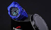 Часы наручные мужские/женские G-Shok синие