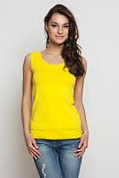 Майка жіноча TM Barwa трикотажна натуральна Жовта