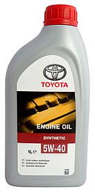 Моторное масло TOYOTA 5W-40 Synthetic (EU) 1 л