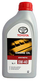 Моторное масло TOYOTA 5W-40 Synthetic (EU) 1 л