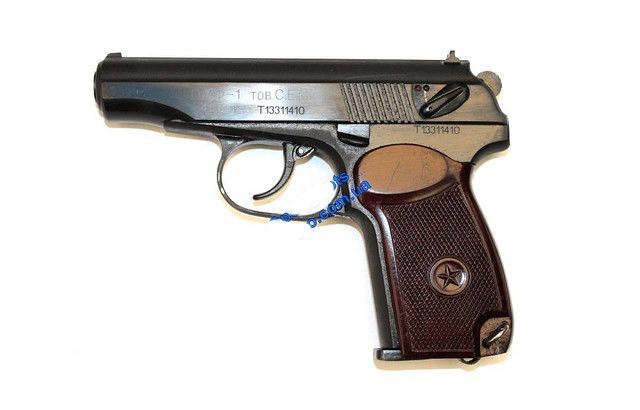 Пистолет Макаров. Пистолет <<ПМФ-1>>. Пистолет Макаров под патрон флоберт (ПМФ-1). Пневматические пистолеты., фото 2