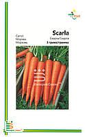 Семена Моркови Скарла( мелкая фасовка) 3гр