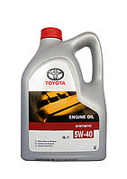 Моторное масло Toyota 5W-40 Synthetic 5 л