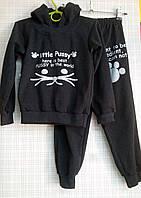Детский спортивный костюм (начес) Pussy, р.134