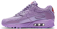 Женские кроссовки Nike Air Max 90 (найк аир макс 90) сиреневые