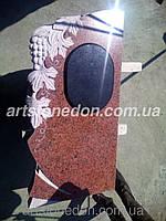 Памятник Виноград из красного гранита