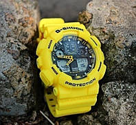 Часы наручные мужские/женские G-Shok желтые