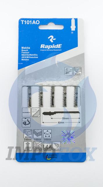Полотно пильное для лобзика Rapide