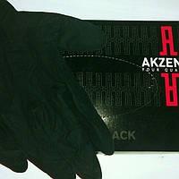 Перчатки черные латексные  Akzenta