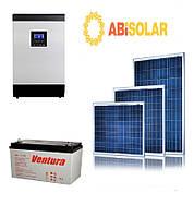 """Автономная (резервная) станция """"Abi Solar"""", 3 кВт (138 кВт*ч/мес)"""