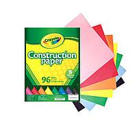 Цветная бумага Крайола, количество листов в наборе 96, 8 цветов, Crayola