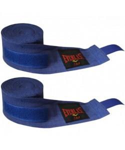 Бинты боксерские (2шт) Эластан + Х-б ELAST BO-3729-5 (l-5м, красный, синий, черный)