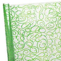 Пленка прозрачная Поэзия зеленая  60 см 400 гр